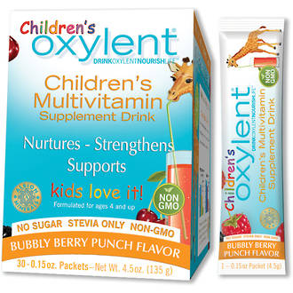Children's Oxylent Bubbly Berry Punch (30s)